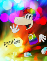 Rainbble ~Fanart~ by That-One-Player