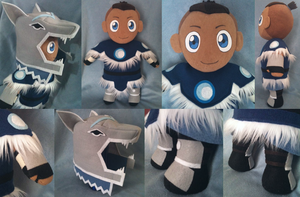 Warrior Sokka Plush by SkullBurst