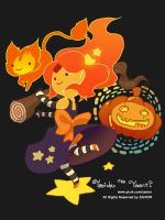 halloween flame princess by zanior325