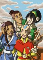 AVATAR the last airbender by RinaInverse