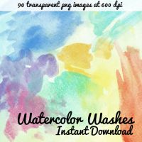 Watercolor Washes Image Pack by corelila
