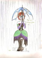 The rain always finds me by Kariselle