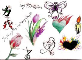 Tattoo Designs by lilArtiste