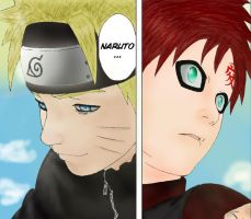 Gaara And Naruto The Kages by Warbaaz1411