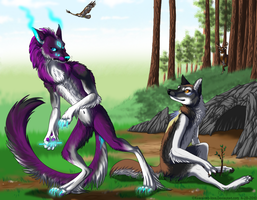 Werewolves in the Daylight by KiRAWRa