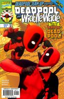 Deadpool and Widdle Wade by jaredjlee