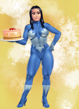 Robin and a Cake (expansion 1/3) by eucalipto