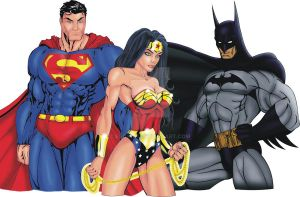 JLA Trinity 2 Color by ESO2001