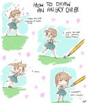 How To Draw An Angry Chibi by AddyinWonderland