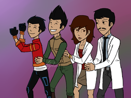 Salazar Conga Line by RexFangirl