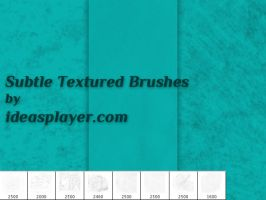 Subtle Textured Ps Brushes by Ideasplayer