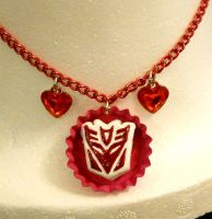 Decepticon Necklace by callykarishokka