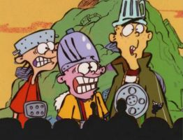 Ed, Edd, n Eddy's Mystery Science Theater by TandP