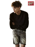 EXO-K: Kai Grazia August 2014 PNG Render by pocket-girl