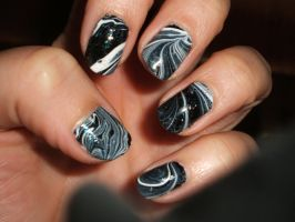 Black n White Marble by lettym