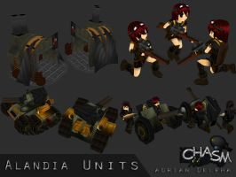 Alandia Various Units 2 by DelphaDesign