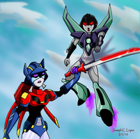 Bizzara Vs Slipstream- REQUEST by Cyberwing013