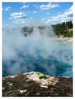 Yellowstone Spring Mist by tezzan