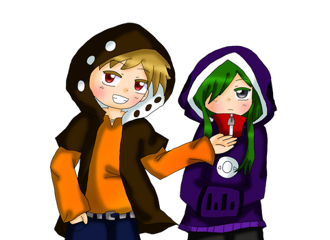 Kano and Kido by purplemagechan