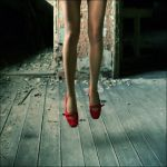 Red Hot Shoes by LalunaBel