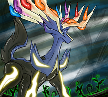 [Pkmn] Xerneas by TheOmegaRidley