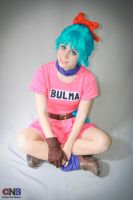 Dragon Ball - Bulma cosplay by AnaSBertola