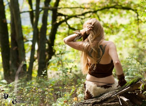The Girl among the Forests 2 by DanieOpheliac