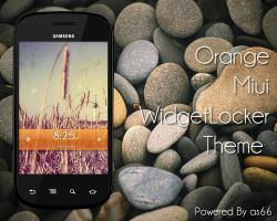 Miui Orange WLTheme by as66