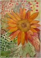 Postcard - front side (sunflower) by ma-ry2004