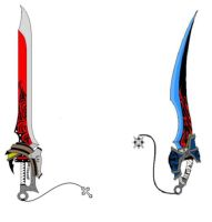 two swords by raixhell