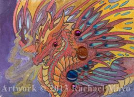 ACEO Dragon 22 by rachaelm5