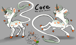 Core: The space unicorn by Kinla