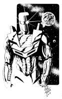 ROM, the SPACEKNIGHT by RONJOSEPH-ARTIST