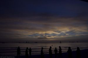 Boracay: sunset 04 by ninjapeps