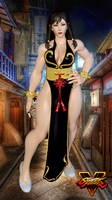 Chun-Li Alt. Costume - Street Fighter 5 by AnthonyMidnight