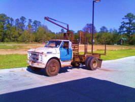 Old Logging Carrier by SwiftWindSpirit