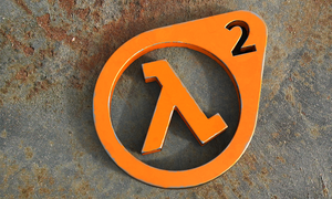 Half-Life logo, worn out by NeroWulf