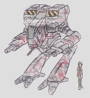 Light Mech Sharknorse by Shabazik