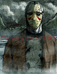 Crystal Lake killer [Prize pic 2/3] by Cageyshick05