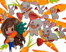 Raving Rabbids by Windydy