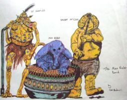 The Max Rebo Band by astrogoth13