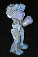 Real Steel Paper model: Noisy Boy: Easy 01 by ThunderChildFTC