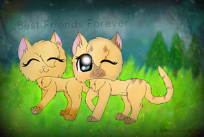 Tabby and Clover - BFF by AgraelLPS