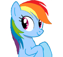Rainbow Dash (30 minute challenge) by The-Revered-Dragon