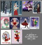 A decade of Christmas cards! by skelly-jelly
