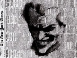 The Clown Prince Of Crime. by Subxice