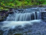 Ricketts Glen State Park 9 by Dracoart-Stock