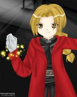 FMA - Edward Elric by AnimeKittyCafe