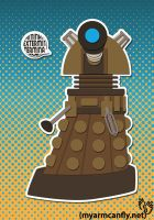 Dalek - Doctor Who by myarmcanfly