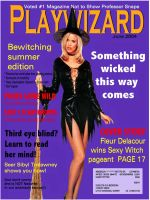 Playwizard Magazine by Whyamithewerewolf